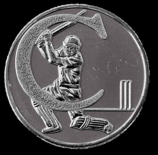 Moeda 10 Pence Série Alfabeto Letra C de 2018 - Críquete