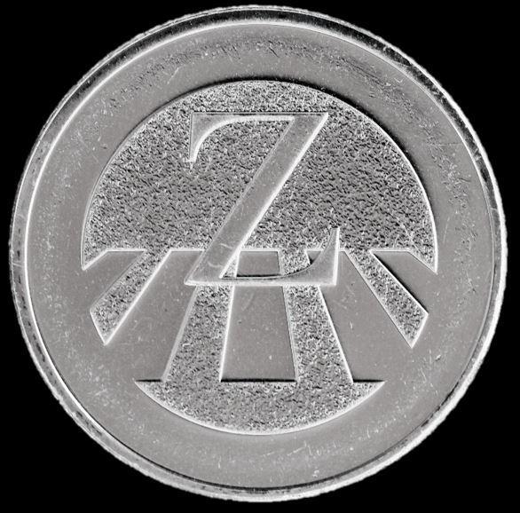 Moeda 10 Pence Série Alfabeto Letra Z de 2018 - Zebra Crossing